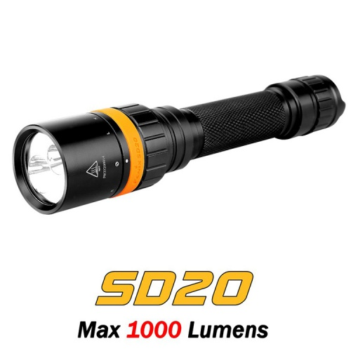 Fenix SD20 LED Diving Torch